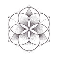 Sacred Geometry Royalty Free Stock Photo