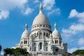 Sacred heart basilica of montmartre la basilique du sacré cœur de Royalty Free Stock Photography