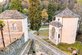 Sacred Mount Calvary of Domodossola, Italy Royalty Free Stock Photo