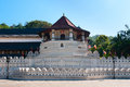 Sacred tooth relic at kandy sri lanka famous buddha temple of the Stock Image