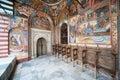 Sacristy of the Rila Monastery in Bulgaria Royalty Free Stock Photo