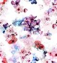 Sacura blossom pattern
