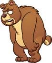 Sad bear Royalty Free Stock Photo