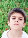 Sad Boy Stock Image