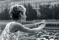 Sad bride Royalty Free Stock Photo