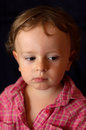 Sad depressive child Royalty Free Stock Photos