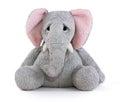 Sad elephant soft toy