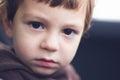 Sad eyes of a child Stock Photography