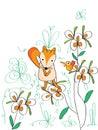 Sad Fox Bird