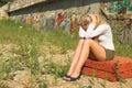 Triste chica