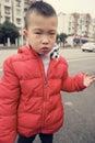 image photo : Sad kid