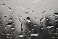 Raindrops Royalty Free Stock Photo