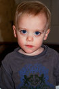 Toddler with Big Eyes Royalty Free Stock Photo