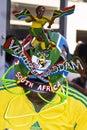 Saddam in Vuvuzela Makaraba - Top View Stock Image