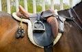 Sella su cavallo