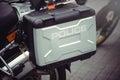Saddlebags police motorcycle Europe
