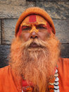 Sadhu, also known as holy man Stock Photos