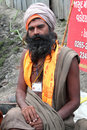 A Sadhu Baba Stock Photos