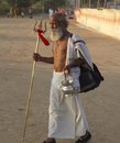 Sadhu holy man nandgaon india november at nand gaon gowshala in nandgaon village devoted his whole life in meditation after wear Stock Photo