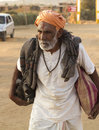 Sadhu holy man nandgaon india november at nand gaon gowshala in nandgaon village devoted his whole life in meditation after wear Stock Images