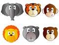 Safari Animal Icon Set