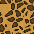 Safari Jungle Themed Seamless Background Stock Images