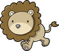 Safari Lion Vector Illustration Royalty Free Stock Photo