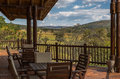 Safari lodge luxury in the african savanna Royalty Free Stock Images