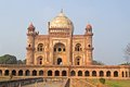 Safdarjung mausoleum in delhi this tomb of mughal prime minister built in it is a famous sight of delhi Stock Photography
