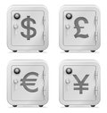 Safe, Currency Symbol, Security, Vault, Money, Banking Royalty Free Stock Photo