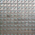 Safe deposit box Royalty Free Stock Photos