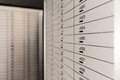 Safe deposit box security Royalty Free Stock Photos