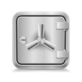 Safe icon Stock Image