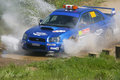 Safety car in rally de portugal algarve april on april algarve Royalty Free Stock Image