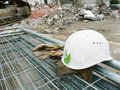 Safety on the construction site Royalty Free Stock Photography
