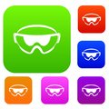 Safety glasses set collection