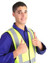 Safety guy Royalty Free Stock Image