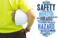 Safety and Health in workplace concept Royalty Free Stock Photo