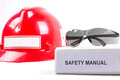 Safety manual. Royalty Free Stock Photo