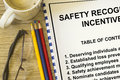 Safety recognition and incentives Royalty Free Stock Photo