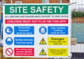 Safety sign Royalty Free Stock Photo