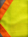 Safety vest background reflective yellow Royalty Free Stock Photos
