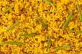 Saffron rice background Stock Photography