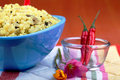 Saffron rice dish Royalty Free Stock Image