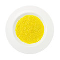 Saffron rice dish isolated on white background Stock Photography