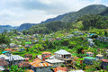 Sagada village skyline Stock Image
