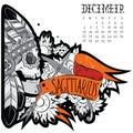 Sagittarius tattoo Royalty Free Stock Photo