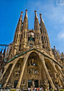 Sagrada familia Stock Images
