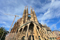 Sagrada Familia in Barcelona. Stock Photography
