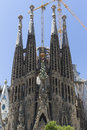 Sagrada Familia at Barcelona Stock Photos